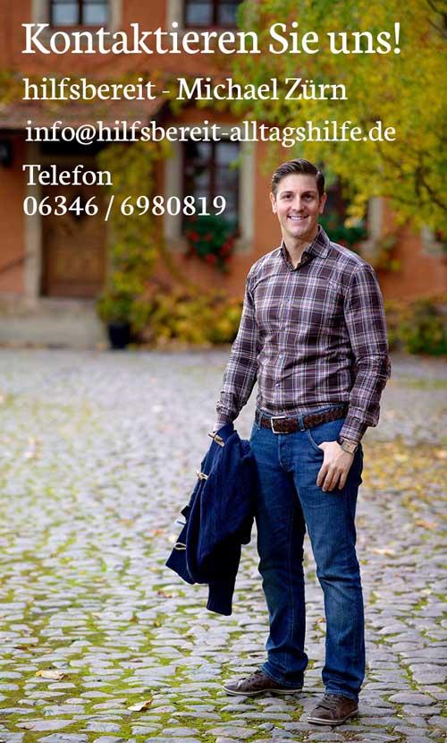 Kontaktieren Sie die Alltagshilfe im Bereich Südliche Weinstraße | Dahner Felsenland
